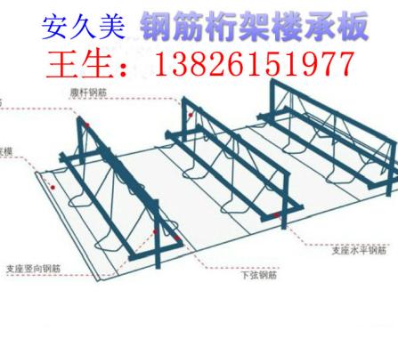 厂家供应深圳q235材质钢筋桁架楼承板