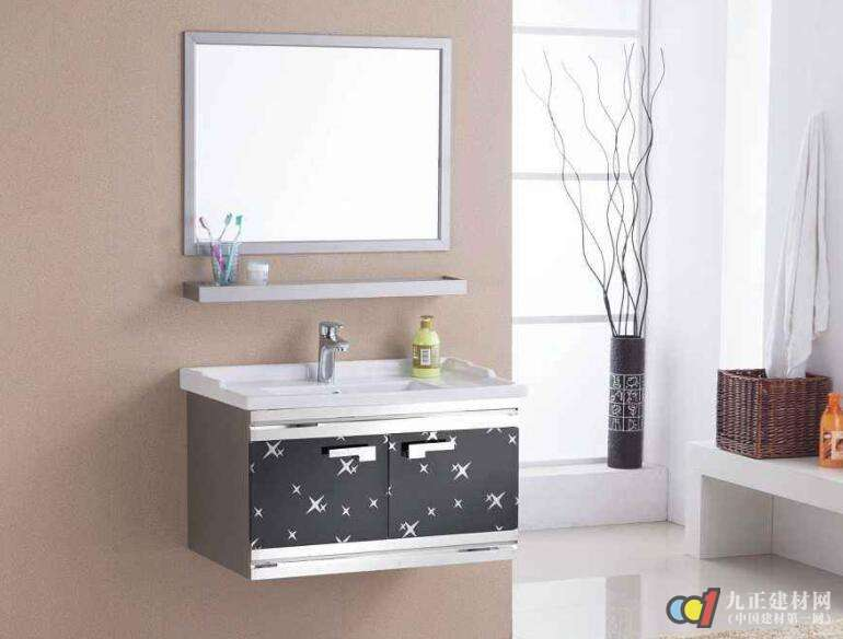 组合柜式洗手盆如何安装 洗手台面用什么石材好图片