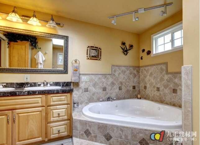 自制砖砌浴缸
