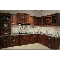 博大爱家不锈钢整体厨房不锈钢橱柜莱芜橱柜台面门板