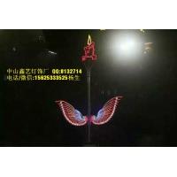 灯光节优质防水 花仙子、流光瓶、孔雀灯LED造型灯