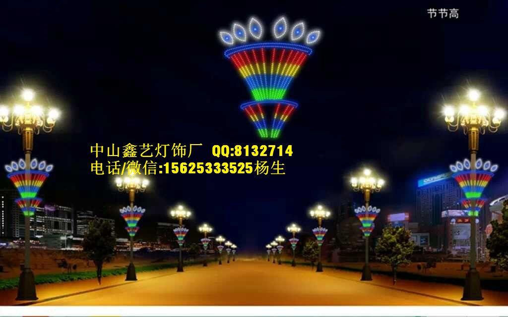 亮化工程灯_led路灯杆造型灯led灯杆装饰灯市政府灯杆亮
