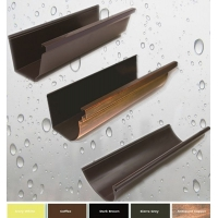 7英寸K型彩铝无缝雨落水系统