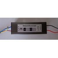 LED防水驱动电源 恒流30W/40W/50W面板灯电源开光