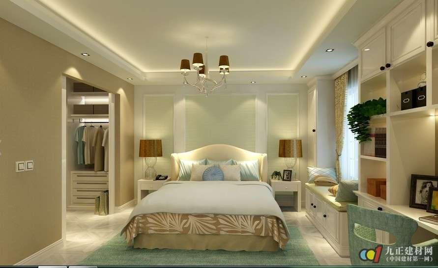 卧室家具摆放效果图5