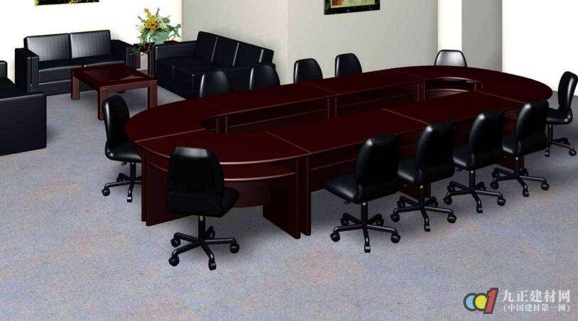会议桌样式装修效果图1