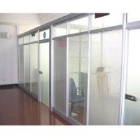 供应成都玻璃百叶隔断 墙体厚度为8公分