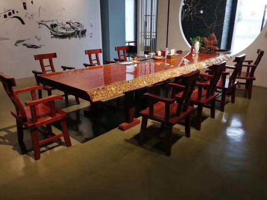 实木大板桌茶桌书桌