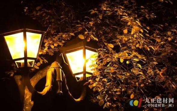 园林景观灯效果图