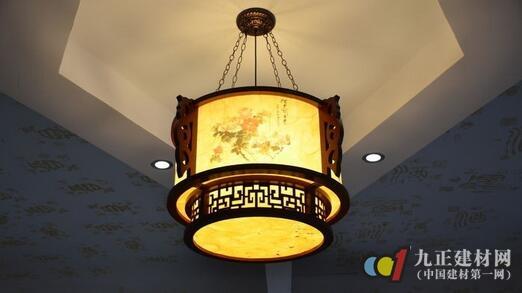 中式吊灯图片