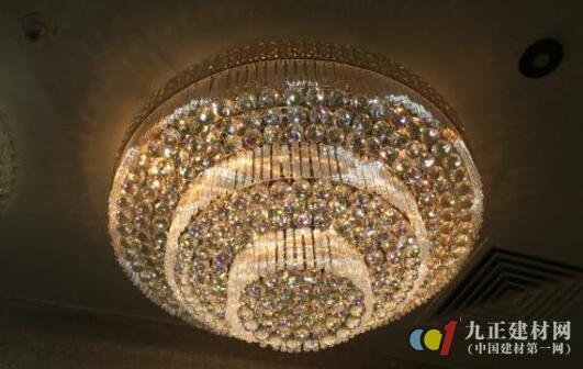 水晶灯图片