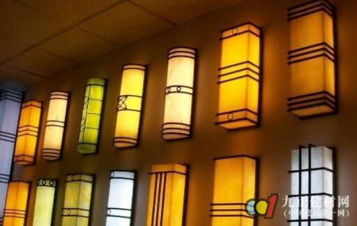 户外壁灯效果图