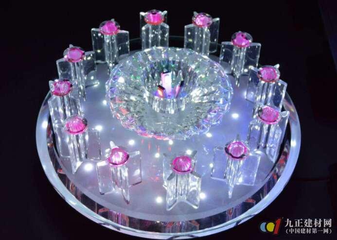 水晶吸顶灯