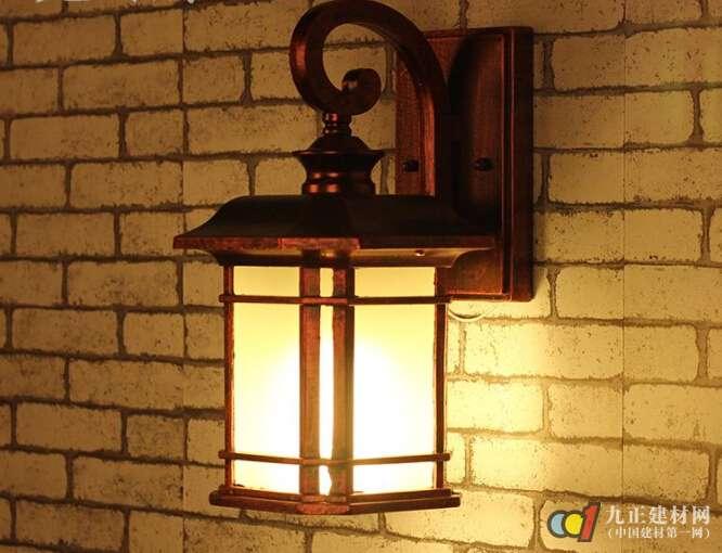 中式户外壁灯