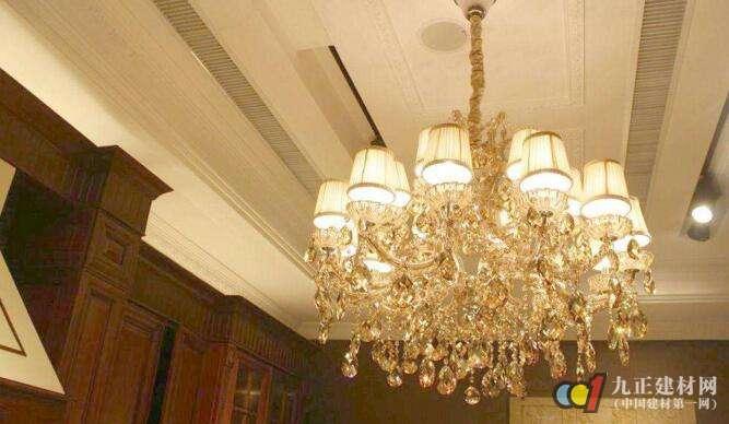 吊灯安装装饰效果图1
