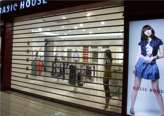 北京水晶卷帘门,透明卷帘门