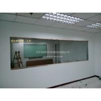 北京单透玻璃 单向玻璃 审讯室专用玻璃!