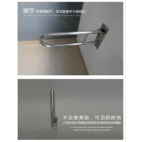 优洁家无障碍安全扶手浴室老年人卫生间不锈钢上翻折叠扶手