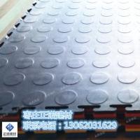 正诺PVC软地砖六色工业地板砖维修车间仓库400防滑耐磨防腐