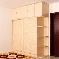 无锡定制衣柜 E0级环保实木多层板