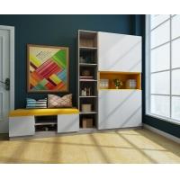 E0级环保除醛板 无锡组合鞋柜 门厅储物柜