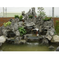 深圳假山设计、假山鱼池设计、假山景观石设计