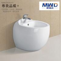 穆维达卫浴 欧洲风格鸡蛋型设计妇洁器 落地式臀部清洗专用妇洗