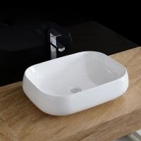 潮州瓷都生产 酒店家具建筑卫生间浴室新款优质方形陶瓷面盆