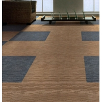中档办公室丙纶方块地毯