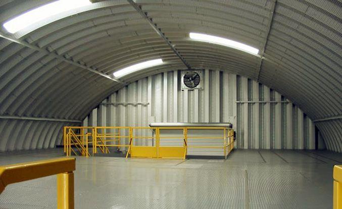 大跨度无梁拱形屋面成型设备 ls-1250-800