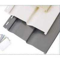 江苏PVC外墙挂板厂家施工安装钢结构房外墙挂板