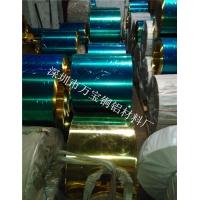 专业加工镀镍H65黄铜带,镀锡黄铜带,