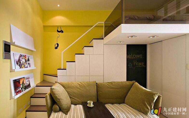 楼梯设计再客厅有什么风水讲究?客厅楼梯装修效果图欣赏