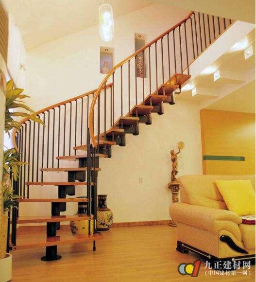 钢木楼梯图片3