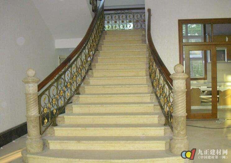 别墅铁艺楼梯扶手图片2