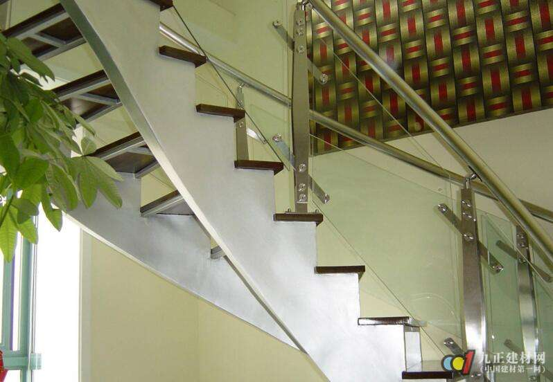 别墅铁艺楼梯扶手图片4