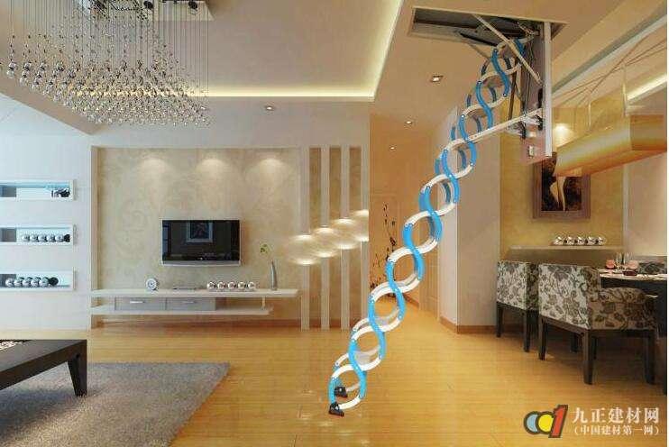 阁楼楼梯口装修效果图5