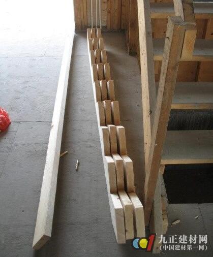 木质楼梯制作