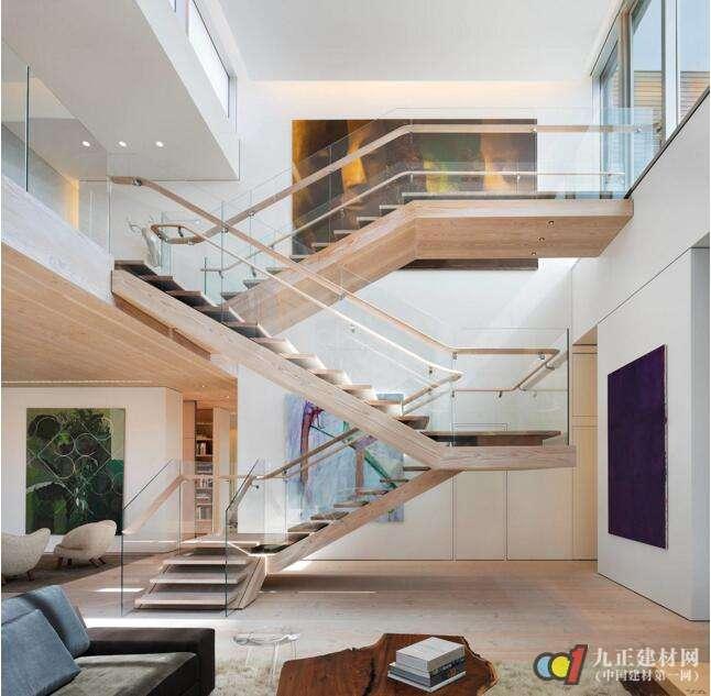木质楼梯效果图1
