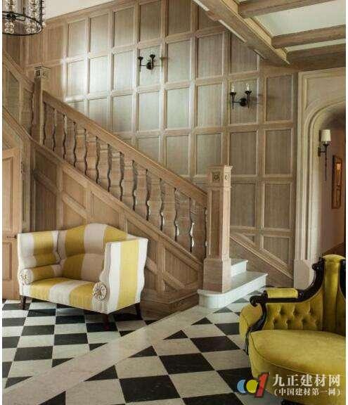 木质楼梯效果图4