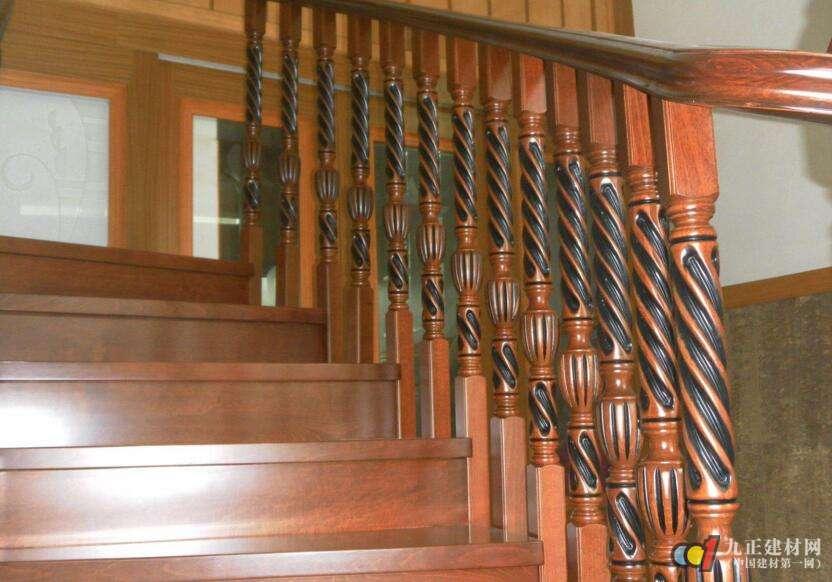 木质楼梯效果图5