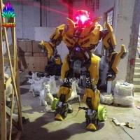 变形金刚4小黄蜂大型机器人 楼盘影院开业人气摆件