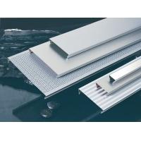 菲普斯C150平面冲孔长条形铝扣板斜角铝扣板