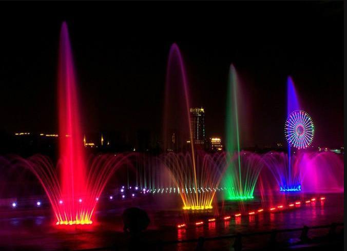 大型西昌喷火喷泉