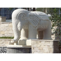 砂岩大象雕塑