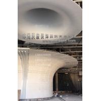 福建海峡文化中心GRG茉莉花天花吊顶GRG喇叭柱项目