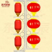 2016新款户外防水发光支架灯笼灯 大红灯笼  支架灯笼