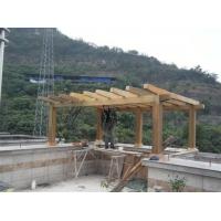 重庆花架凉亭鱼池假山景观流水施工制作
