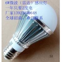 广茂泰LED雷达感应灯泡走廊灯楼梯灯路灯阳台灯
