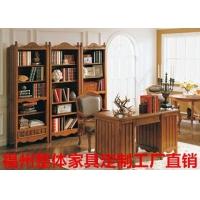 福州聚家书柜定做实木书柜订做生态板书柜定做